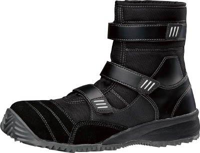 [T-7892110]ミドリ安全 屈曲作業向け先芯入作業靴 TS-125ブラック 24cm TS125BK24.0