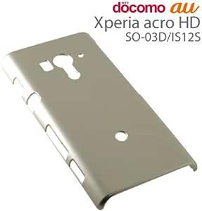 ラスタバナナ Xperia acro HD(SO-03D/IS12S)用 ハードケース ゴールド C825ACROHD