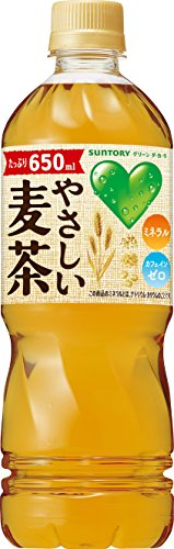 GREEN DAKARA やさしい麦茶 650ml×24本
