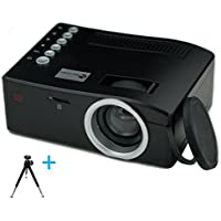 Build Excellent ミニ Led投影機 プロジェクター家庭用Min Projector、軽便、携帯式