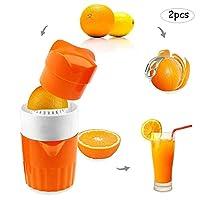 フルーツジューサー、ハンドプレスジュース水差しシトラスレモンライムオレンジスクイーザ