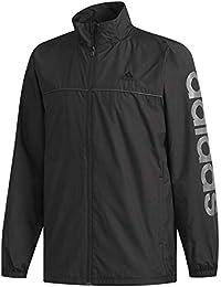 [アディダス] トレーニングウェア エッセンシャルズ ビッグリニアロゴウインドブレーカージャケット (裏起毛) FAO93 [メンズ] FAO93
