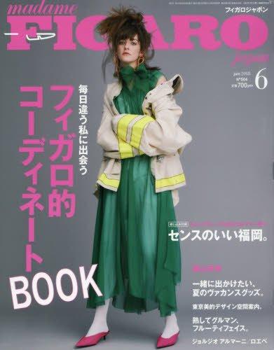 madame FIGARO japon フィガロ ジャポン 2018年6月号 毎日違う私に出会うフィガロ的コーディネートBOOK/FIGARO homme 森山未來