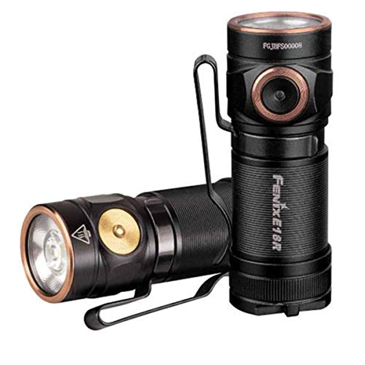 伸ばす寛容率直なFENIX(フェニックス) E18R XP-L HI LED フラッシュライト 明るさ最高750ルーメン USB充電式 E18R