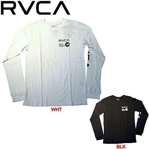 【RVCA】ルーカ 2015秋冬 メンズTシャツ TEE 長袖ティーシャツ ロンT Blk L