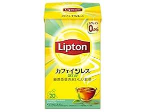 リプトン カフェインレスティー 20杯分 ×6袋 デカフェ・ノンカフェイン ティーバッグ