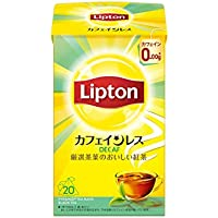 リプトン カフェインレスティー 20杯分×6袋