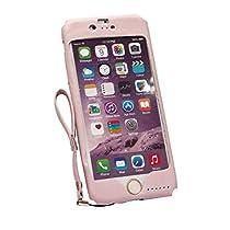 プレーリードッグ Lesign iPhone6/6sケース 天然皮革 (ライラック)