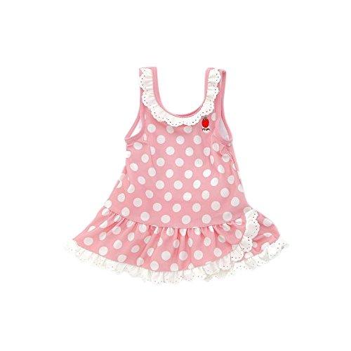 Youpi!(ユッピー)ワンピース型水着(80〜130cm)キムラタンの子供服(19511-171b)ピンク130