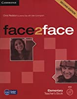 face2face Elementary Teacher's Book with DVD. 2nd.
