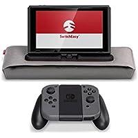 Nintendo Switch ケース SwitchEasy PowerPACK 充電 しながら 遊べる カバー スタンド × JOY-CON グリップ / モバイルバッテリー 収納 バンド 付 ソフト キャリングケース [ ニンテンドースイッチ 専用 ] レッドポケット