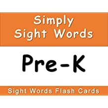 Simply Sight Words Pre-K: Digital Sight Word Flashcards (Dolch Sight Word Flash Cards)