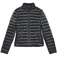 Zara Women Contrast Down Puffer Jacket 0518/041 Grey