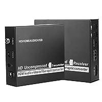 100-240V HDMI 3G 1080P HDシングルモードシングルファイバー光コンバーター すべてのデジタル、非圧縮、3G光モジュール(US)