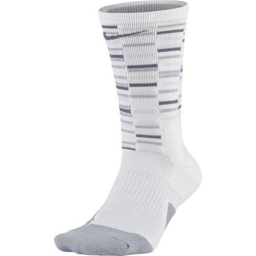 (ナイキ) Nike ソックス Elite Crew Socks GFX2 Blk/C.Gry CREWソックス バスケットボール ランニング トレーニング