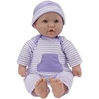輸入ジェーシートイズ赤ちゃんおままごと JC Toys, La Baby 16-inch Washable Soft Body Purple Play Doll - For Children 2 Years Or Older, Designed by Berenguer [並行輸入品]