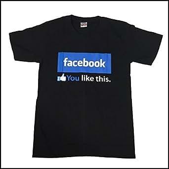 フェイスブック Tシャツ半袖 いいね Facebook パロ