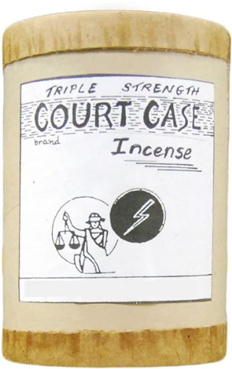 二層対ボトルネック高品質CourtケースPowdered Voodoo Incense 4オンス