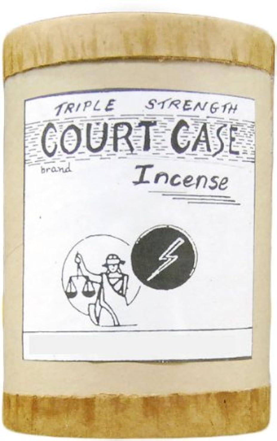 ヒール行刻む高品質CourtケースPowdered Voodoo Incense 4オンス