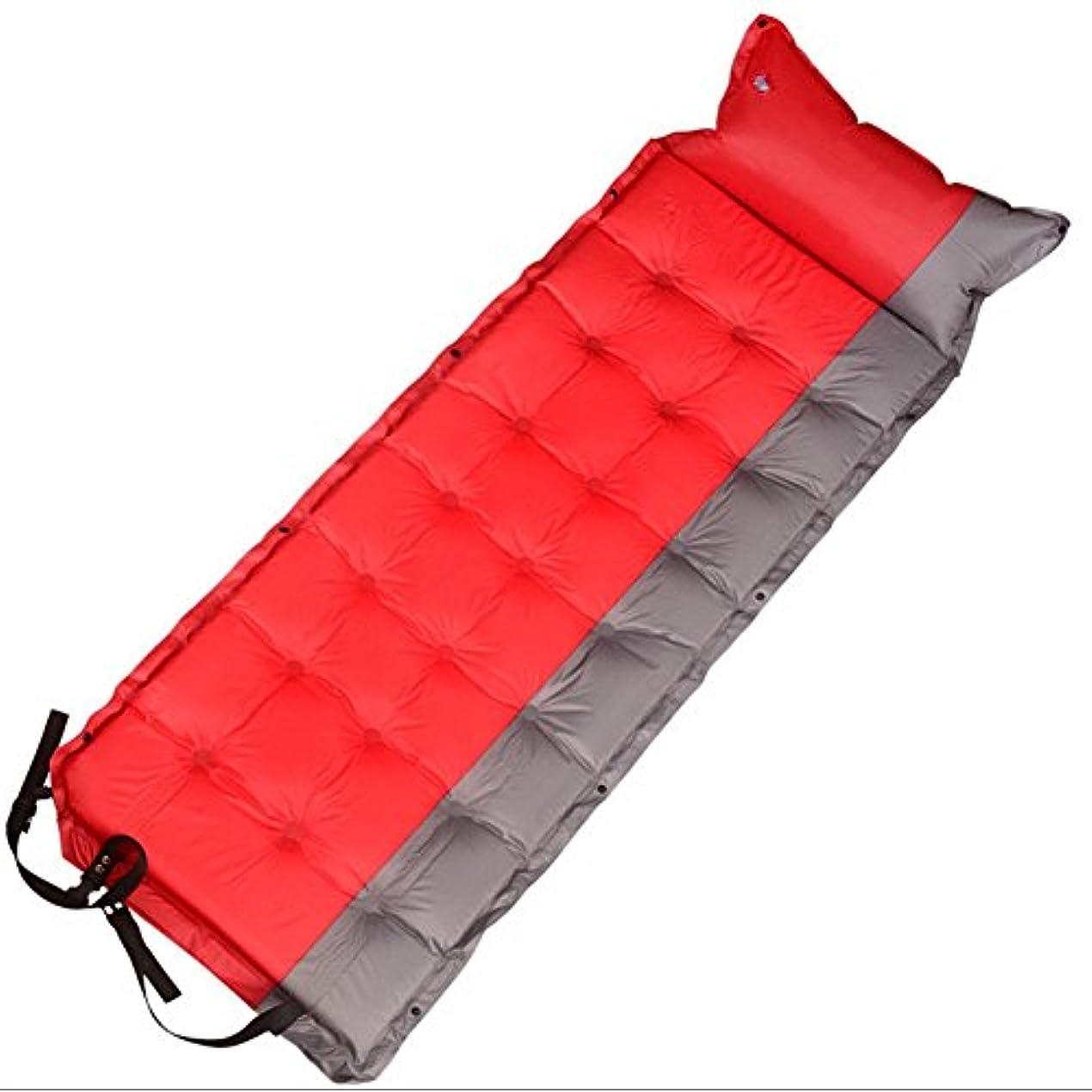 誓い礼拝ハードキャンプ、寝袋、テントの折り畳みのための枕と余分な厚い軽量キャンプの睡眠パッドマットマットレスベッドキャンプ屋外インフレータブルクッション
