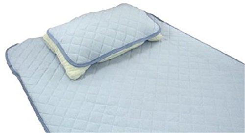 EFFECT 쿨매트 쿨 베드 시트 패드 스탠다드 아이스 싱글 항균 방취 사양 블루 100×205cm EF-ICE-BL-EF-ICE-BL