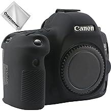First2savv Rubber Camera Case Bag Full Cover for Canon Eos 5D MarkIV. 5D MkIV XJPT-GJ-5D4-01