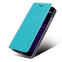 windykids Zenfone Live L1 ケース za550kl カバー ブルー ゼンフォンlive 手帳 手帳型 手帳型ケース シンプル za550エイスース エイスースzenfone live L1 ZA550KL,ブルー