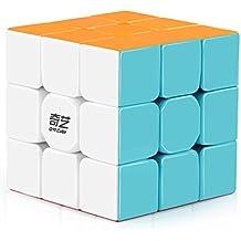 D-FantiX Qiyi Warrior W 3x3 Speed Cube Stickerless Magic Cube Puzzles