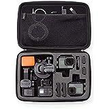 Amazonベーシック カメラケース(GoProカメラ用) キャリングケース Lサイズ ブラック