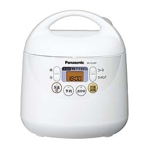 Panasonic 電子ジャー炊飯器 0.54L(0.5-3合) SR-CL05P-AH