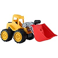 Caterpillar Bulldozer Toy – Beiens Construction Vehicle Toy for Kids、エンジニアリングBuilding Toy for Boys Girls幼児、13.8 X 7.5 X 6.8インチ