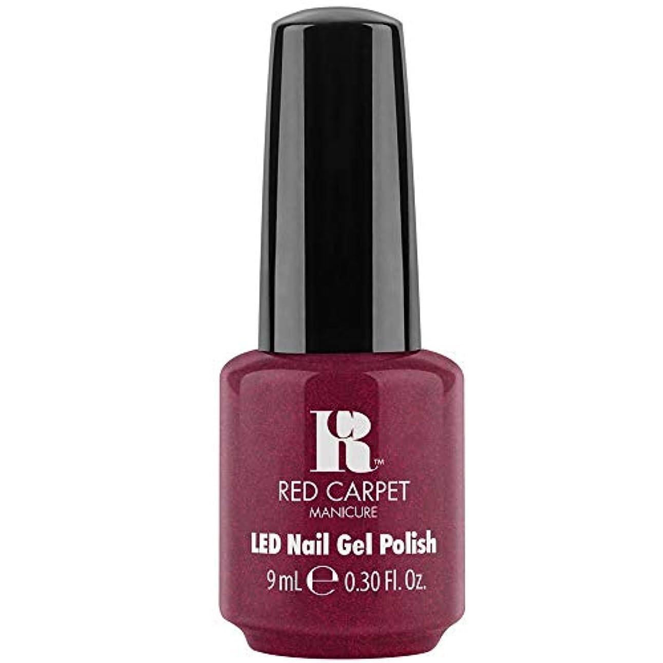 ミルクアイドルコールドRed Carpet Manicure - LED Nail Gel Polish - Fu-You, I Do! - 0.3oz / 9ml