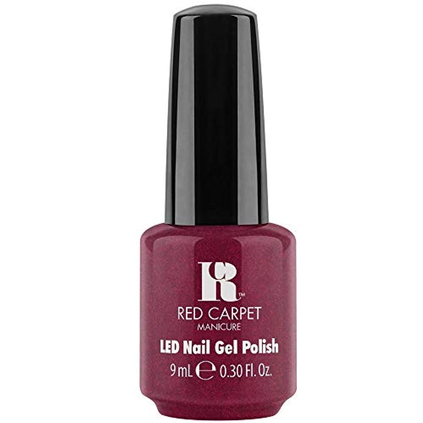 霧深いキリスト教お父さんRed Carpet Manicure - LED Nail Gel Polish - Fu-You, I Do! - 0.3oz / 9ml