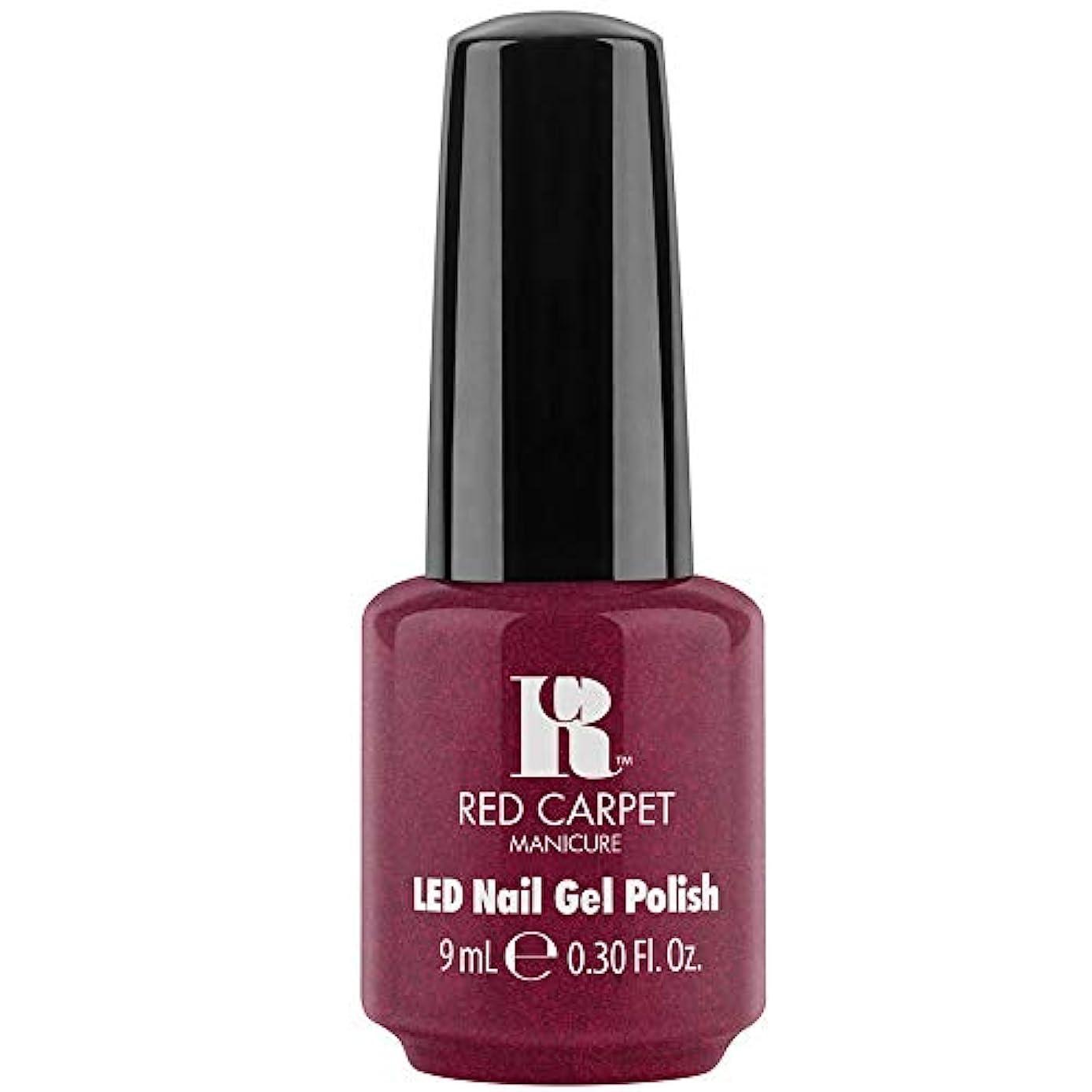 インタフェース文明化する変数Red Carpet Manicure - LED Nail Gel Polish - Fu-You, I Do! - 0.3oz / 9ml