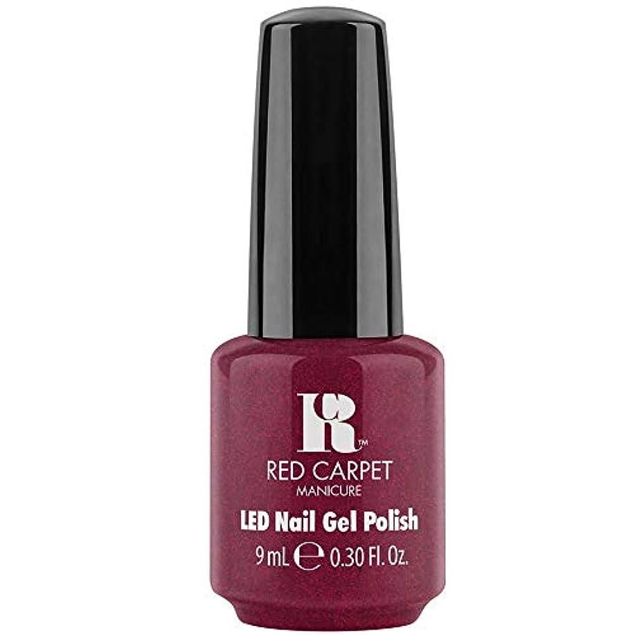 ネブ謝罪休戦Red Carpet Manicure - LED Nail Gel Polish - Fu-You, I Do! - 0.3oz / 9ml