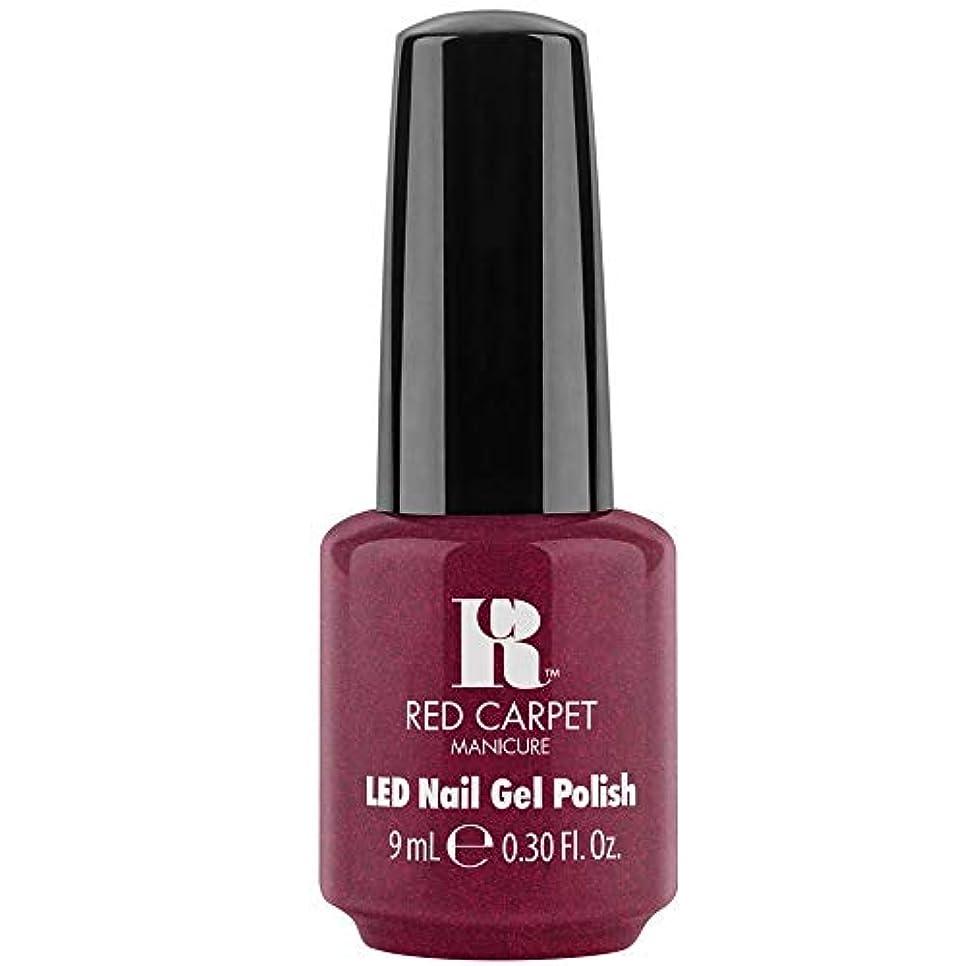 伝統的困難朝食を食べるRed Carpet Manicure - LED Nail Gel Polish - Fu-You, I Do! - 0.3oz / 9ml