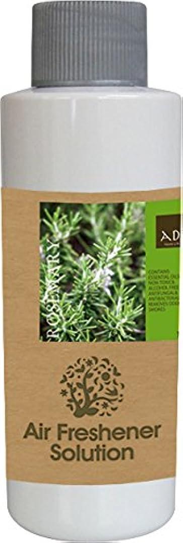 原始的なダイアクリティカル自伝エアーフレッシュナー 芳香剤 アロマ ソリューション ローズマリー 120ml