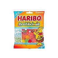 フルーティーキャンディー | Haribo | フルーツサイズシェアサイズ | 総重量 220 グラム