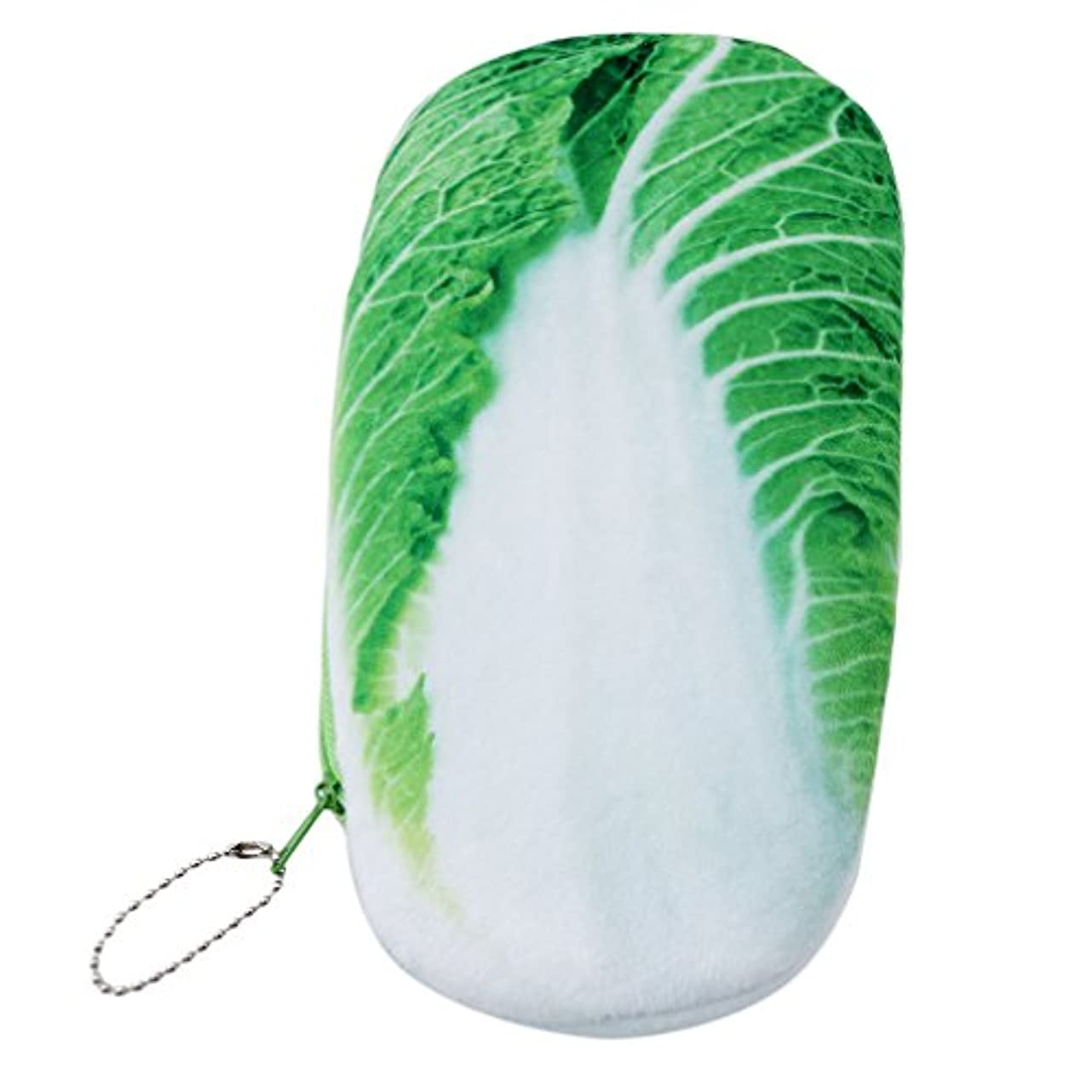 津波振幅ハードウェアKLUMA 財布 化粧ポーチ 軽量 おしゃれ シンプル かわいい 文芸 多機能 小物収納 野菜形 独特デザイン 人気でかわいい