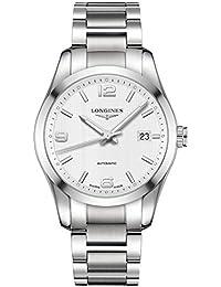 [ロンジン]LONGINES 腕時計 コンクエスト クラシック 自動巻き L2.785.4.76.6 メンズ 【正規輸入品】