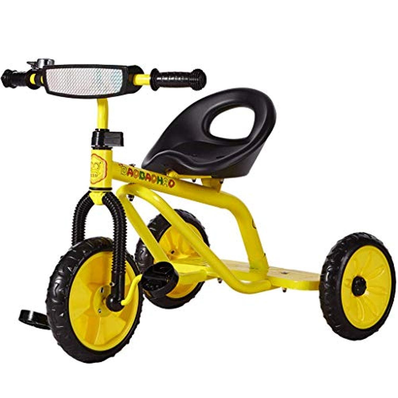 子供の三輪車2-5歳の子供の車の車の男性と女性の子供の三輪車