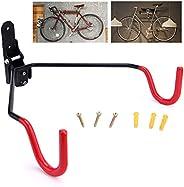 MIXIAOS Bike Hanger, Bicycle Display, Bicycle Wall-Mounted Hook, Bike Stand, Bicycle Holder, Adjustable Angle,