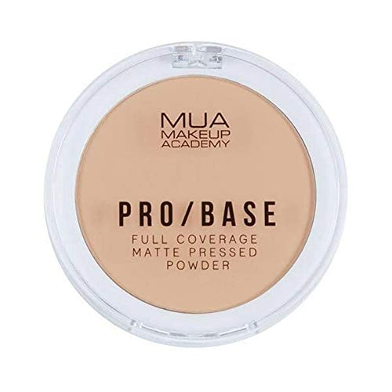 免疫するなめらかなステートメント[MUA] Muaプロ/ベースのフルカバレッジマットパウダー#130 - MUA Pro/Base Full Coverage Matte Powder #130 [並行輸入品]