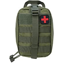 Empty Medical Bag, First Aid Kit Emergency Pouch for Outdoor Climbing Hiking Camping Home Office