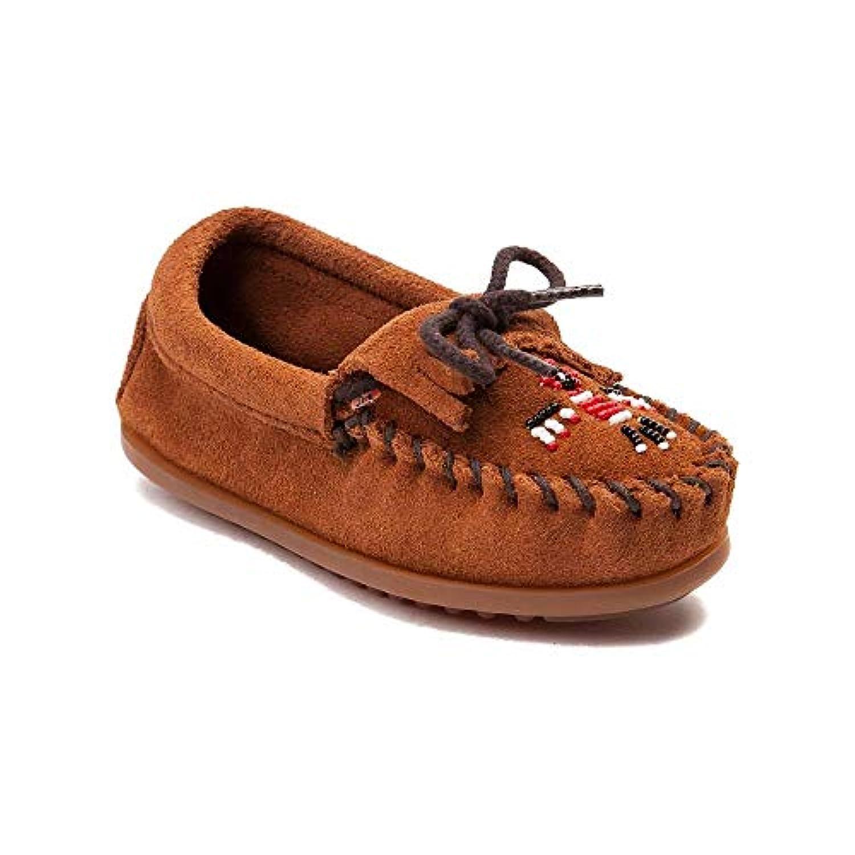 (ミネトンカ) Minnetonka 靴?シューズ レディースカジュアルシューズ Youth/Tween Minnetonka Thunderbird II Casual Shoe Brown ブラウン US 4 (23cm)