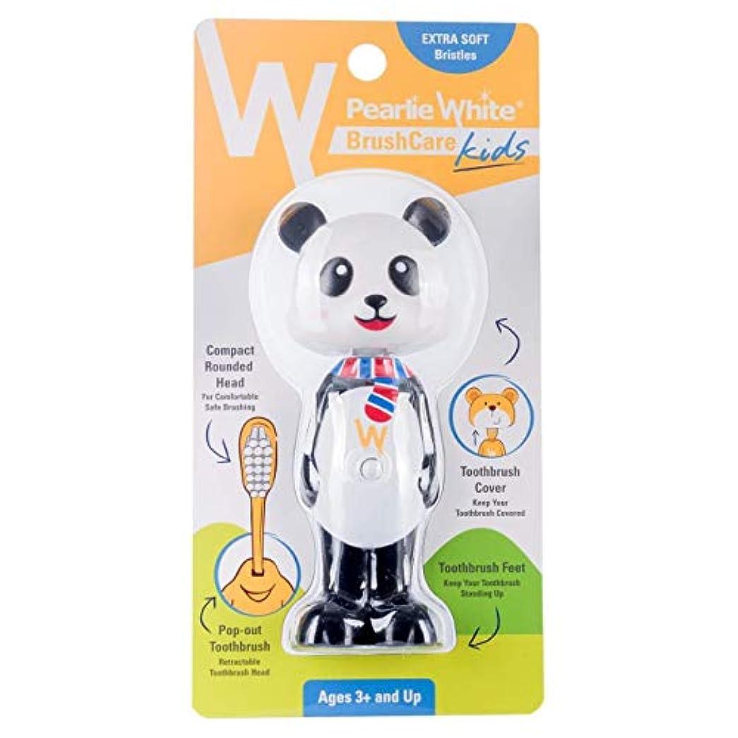きつくシェトランド諸島良心的Pearlie White(パーリーホワイト) パーリーホワイト ブラシケア キッズ PANDA(パンダ) 1本
