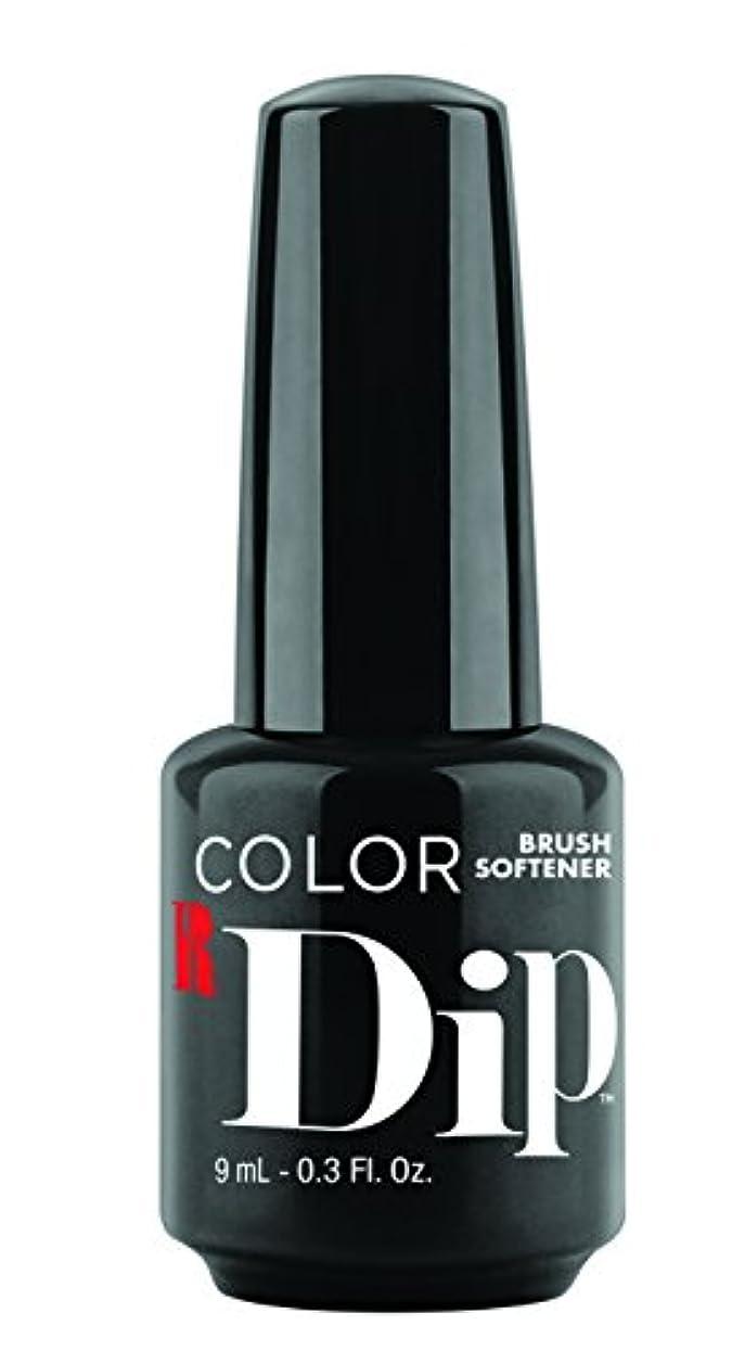 広まったクレジットシャイRed Carpet Manicure - Color Dip - Brush Softener - 9 ml/0.30 oz
