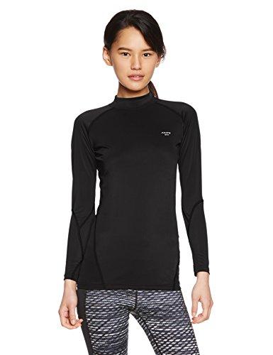 (エーディーワン) A.D.ONE レディース コールドコンプレッション 圧着 加圧 長袖 女性用 インナーシャツ コンプレッションウェア アンダーウェア スポーツウェア ストレッチインナー クールドライ ADC-1501L ブラック L