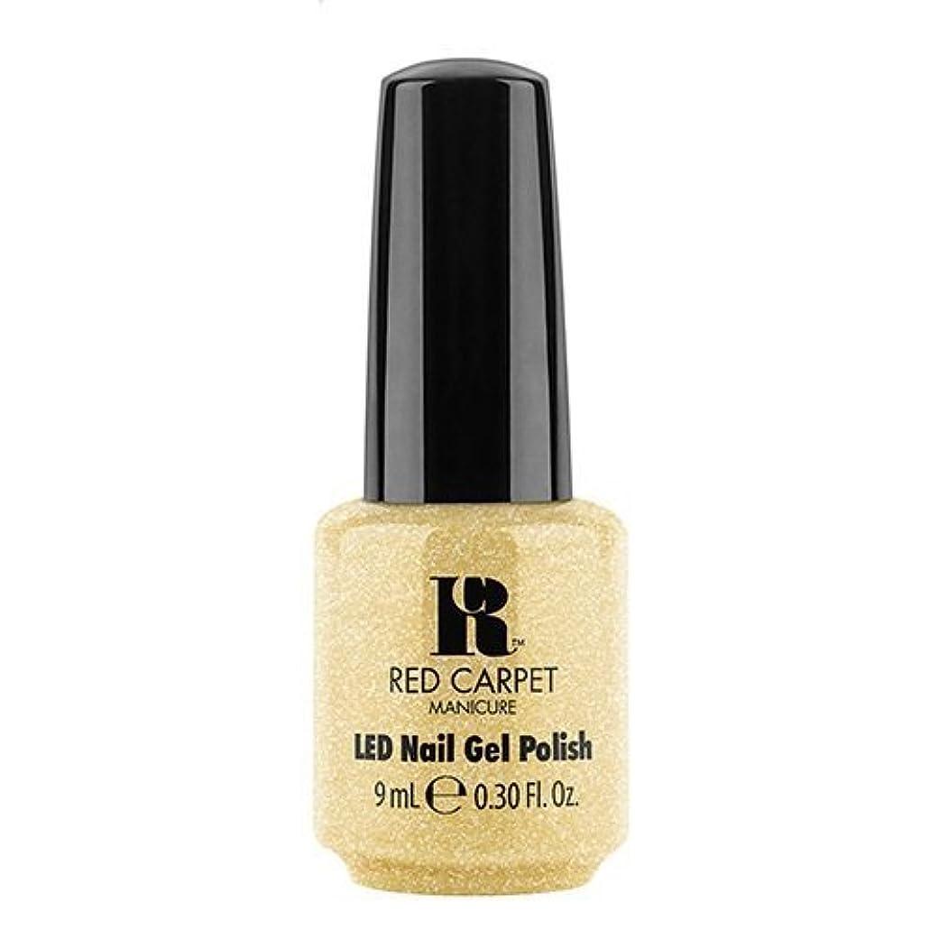 石鹸君主扇動Red Carpet Manicure - LED Nail Gel Polish - Nice Nunchucks - 0.3oz / 9ml
