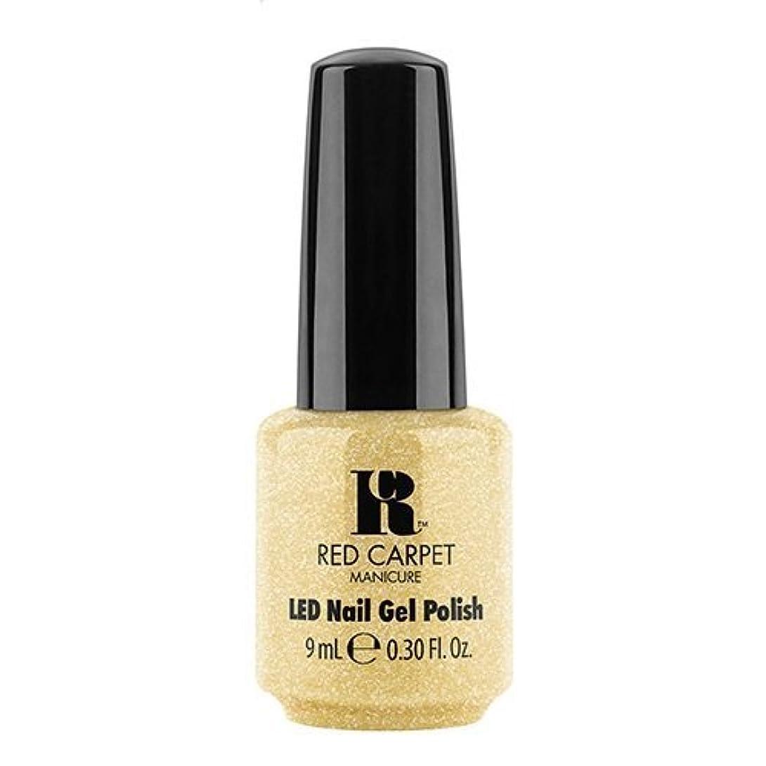 倫理的寝てる女性Red Carpet Manicure - LED Nail Gel Polish - Nice Nunchucks - 0.3oz / 9ml